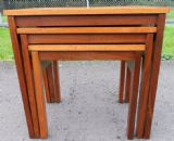 Retro Teak Nest of Three Coffee Tables